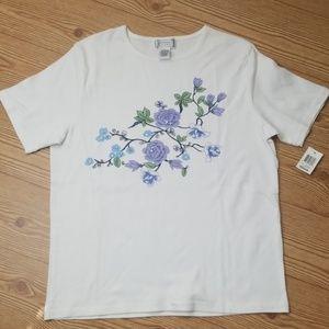 Jennifer Moore - Floral T-Shirt